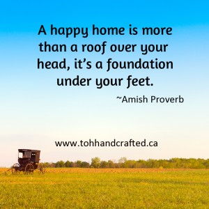 amish roof proverb