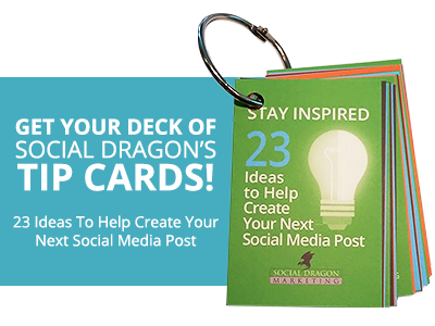 Social Dragon Marketing - Card Deck - CTA 2017