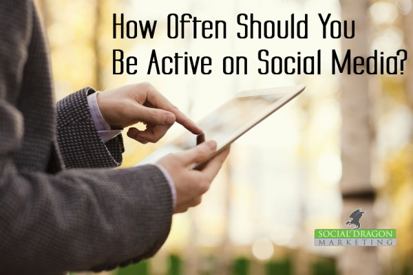 How often should use social media website