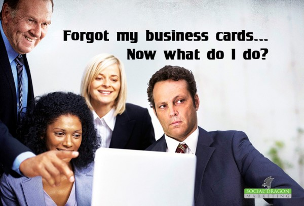 Networking without business cards